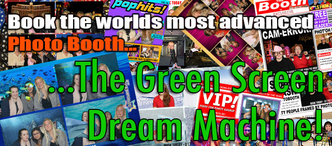 Green Screen Dream machine Hire