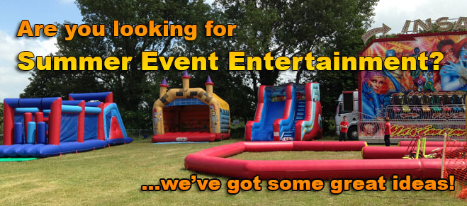 summer event entertainment ideas
